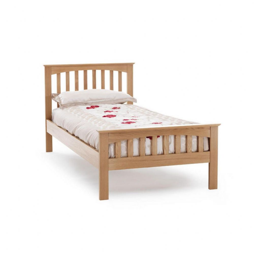 Serene Single Windsor Oak Bed Frame